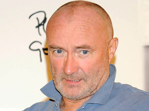 Phil Collins presents his new album 'Going Back' at the Palace Hotel