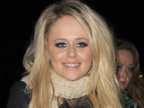 'The Inbetweeners' star Emily Atack messes around with friends