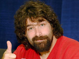 WWF SUperstar wrestler Mick Foley