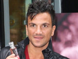 Peter Andre launches his new perfume 'Mysterioues Girl' in London