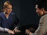 Laura Innes as Sophia McGuire, Ian Anthony Dale as Simon Lee, The Event