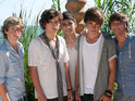 X Factor's 1Direction have their Judges' Houses audition upset by an encounter with a sea urchin.