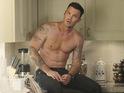 "Brian Austin Green recalls the ""pressure"" of playing a Desperate Housewives ""hunk""."