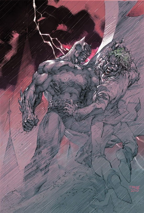 Batman Europa cover teaser from DC Comics