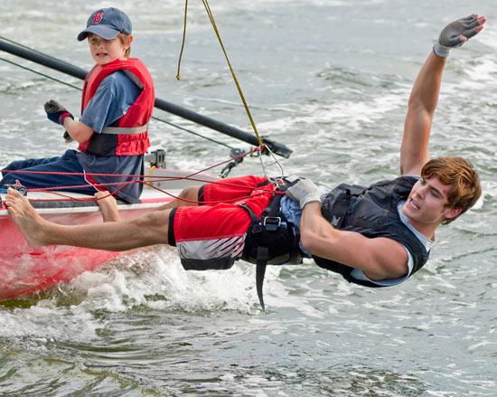 Zac sailing