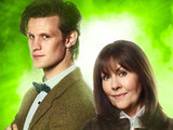 Sarah and the Eleventh Doctor in Sarah Jane Adventures