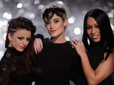 The X Factor's final 3 girls: Rebecca Ferguson, Cher Lloyd and Katie Waissel