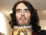 Russell Brand signs copies of his new book 'Booky Wooky 2'
