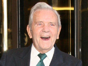 Comedian and Actor Norman Wisdom