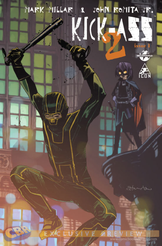 Kick-Ass 2 Issue One cover