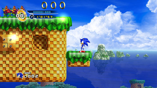 Gaming Review: Sonic The Hedgehog 4: Episode 1
