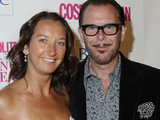 Kirk Pengilly and Layne Beachley