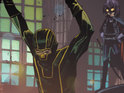Writer Mark Millar and artist John Romita Jr register the title as a trademark.