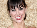 Constance Zimmer marries Russ Lamoureux in a ceremony held at LA's Soho House.