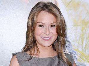 Alexa Vega attending the Los Angeles premiere of 'Dear John'