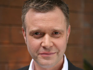 Darren Day who plays 'Danny Houston' in Hollyoaks
