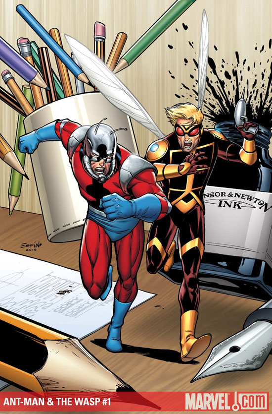 Ant-Man & The Wasp #1 Cover from Marvel Comics