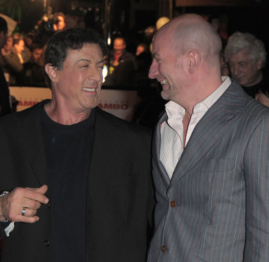 Sylvester Stallone and Graham McTavish