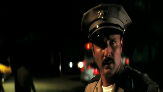 David Arquette returns as Sheriff Dewey.