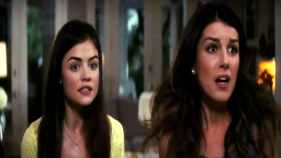 New girls Lucy Hale and Shenae Grimes.