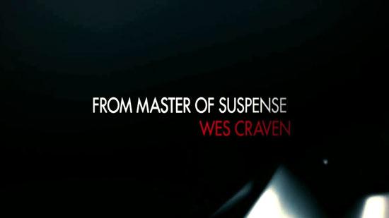 Wes Craven. Woohoo!