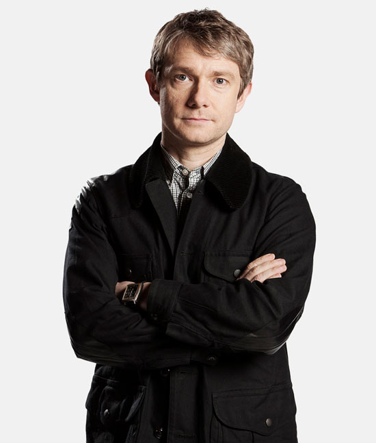 Martin Freeman as Doctor Watson