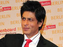 In real life SRK lives up to his 'filmi' presence, says writer Charlie Henniker.