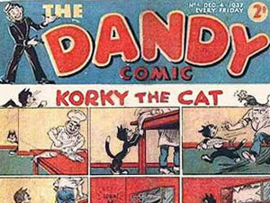 'The Dandy', from DC Thompson