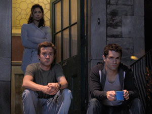 Sally, Aidan and Josh from Being Human US