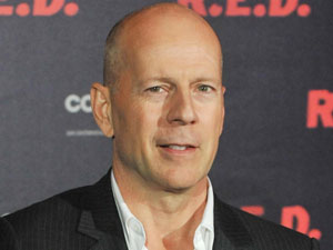 Bruce Willis attends a photocall for the movie 'R.E.D'