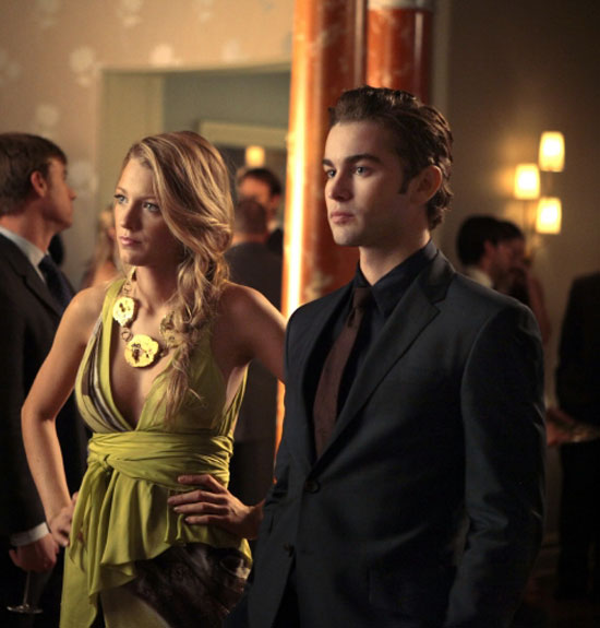 Gossip Girl S04E07: Serena and Nate
