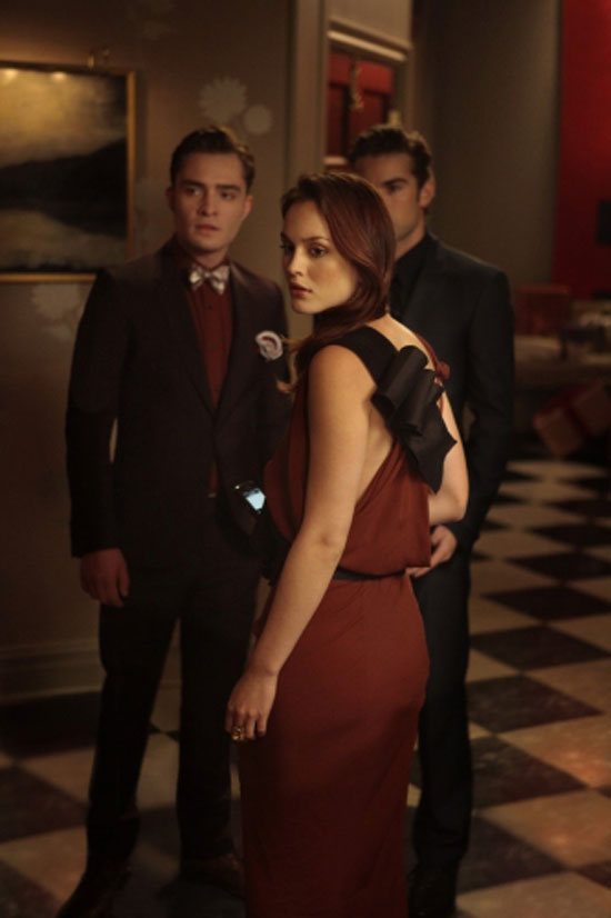 Chuck Bass, Blair Waldorf and Nate Archibald