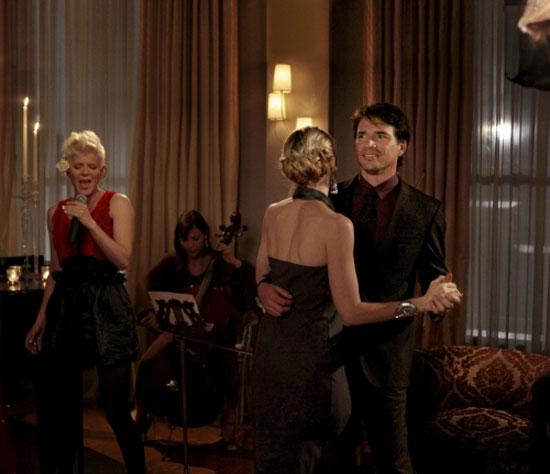 Singer Robyn, Lily Van Der Woodsen and Rufus Humphrey