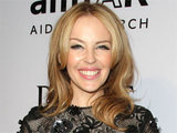 Kylie Minogue attending the amfAR Inspiration Gala held in Los Angeles