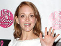 Jayma Mays says that she grew to love The Smurfs when her mom forced her to watch the cartoon as a child.