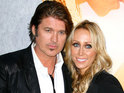 Billy Ray Cyrus storms out of a radio interview after being asked about his split from wife Tish.