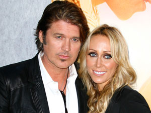 Billy Ray and Tish Cyrus