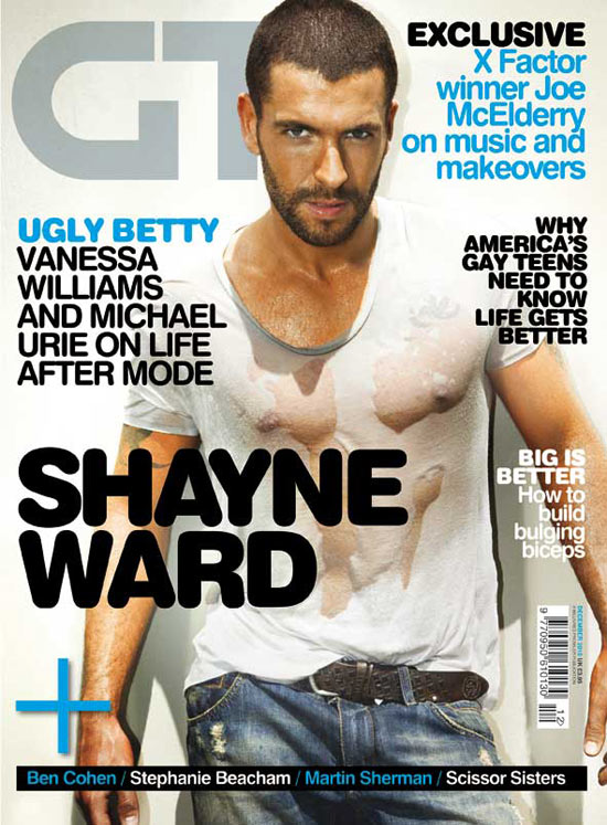 Shayne Ward on Gay Times