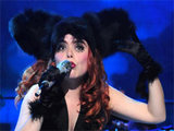 Paloma Faith performing live at the Manchester Apollo