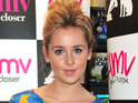 Diana Vickers works on new material with Starsailor frontman James Walsh.