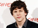 Jesse Eisenberg says that he is not used to considering other celebrities to be his peers.