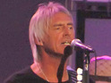 Paul Weller performing live on the 'Jimmy Kimmel Live!' show