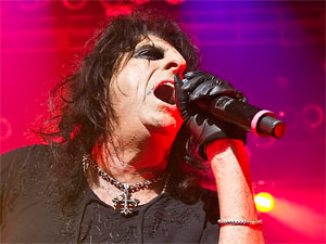 Alice Cooper in concert at London's Roundhouse