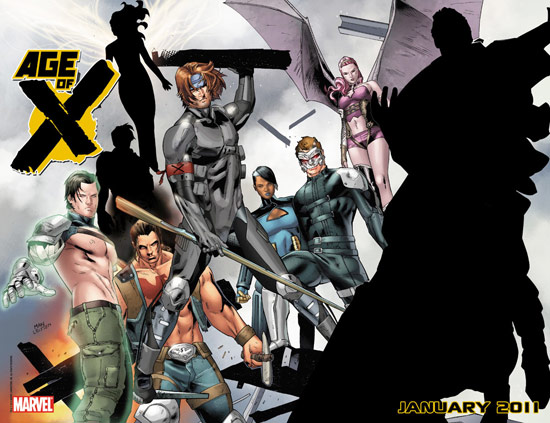 The third 'Age of X' teaser from Marvel Comics