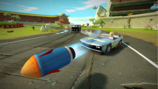 Gaming Review: Kinect Joy Ride
