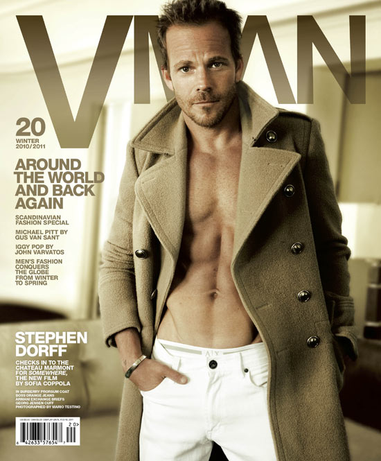 Stephen Dorff in VMAN