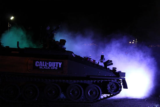Tank in Black Ops launch event