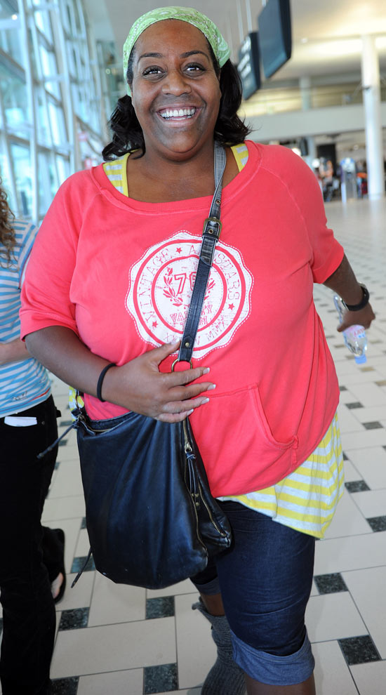 Alison Hammond arrives in Australia for I'm A Celebrity...