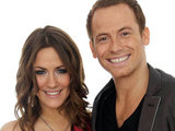 I'm A Celebrity presenters Joe Swash and Caroline Flack