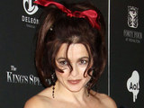 Helena Bonham Carter at the premiere of 'The King's Speech' in New York